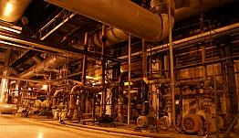 Sieć elektryczna na hali produkcyjnej